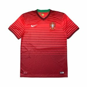 Nike 2014-2016 Portugal Mens Home Jersey Football
